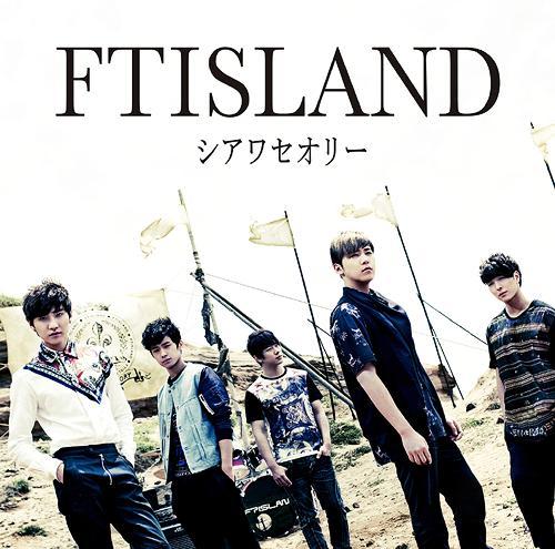 FT Island Shiawase Theory Limited Edition A