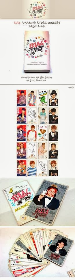 b1a4 amazing store concert cards