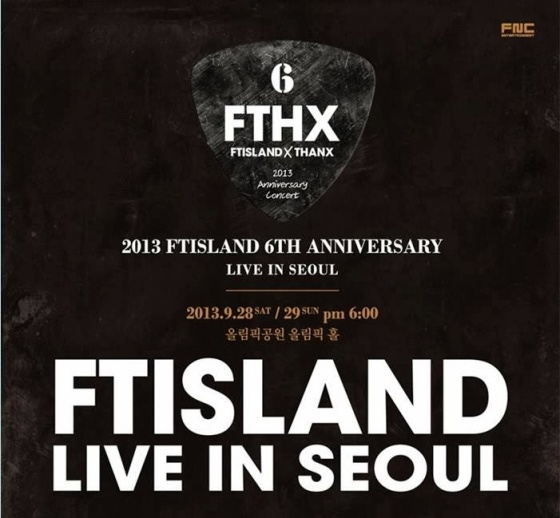 FT Island FTHX Live in Seoul Goods